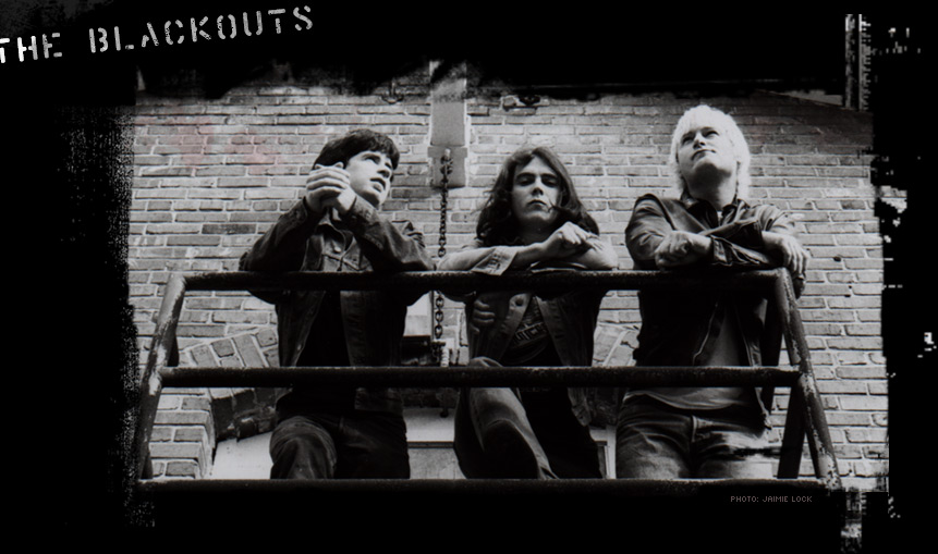 The Blackouts New Site Coming Soon! The Blackouts are Brian Labrie, Lev Delany and Brian Hull